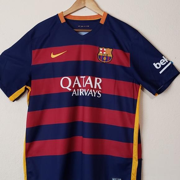 2015-2016 FC Barcelona Jersey XL